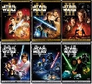 Star Wars Episodes 1-6  master 2 ภาษา dvd 6 แผ่น